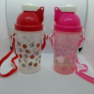 Set of 2 Water Bottles